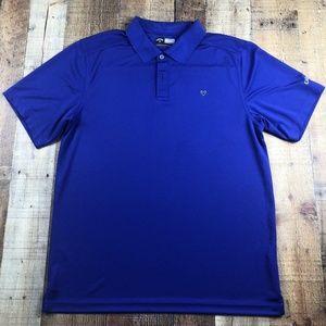 Callaway Purple Opti-Dri Collared Polo Shirts DV20